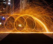 circle sparks